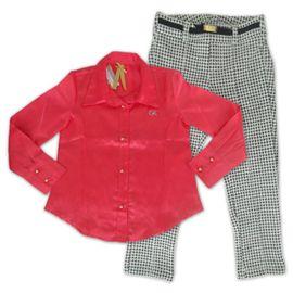 camisa-cetim-rosa-infantil-e-calca-tweed