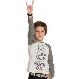 camiseta-infantil-keep-calm-and-rock