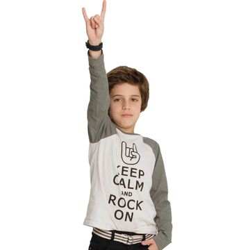camiseta-infantil-keep-calm-and-rock