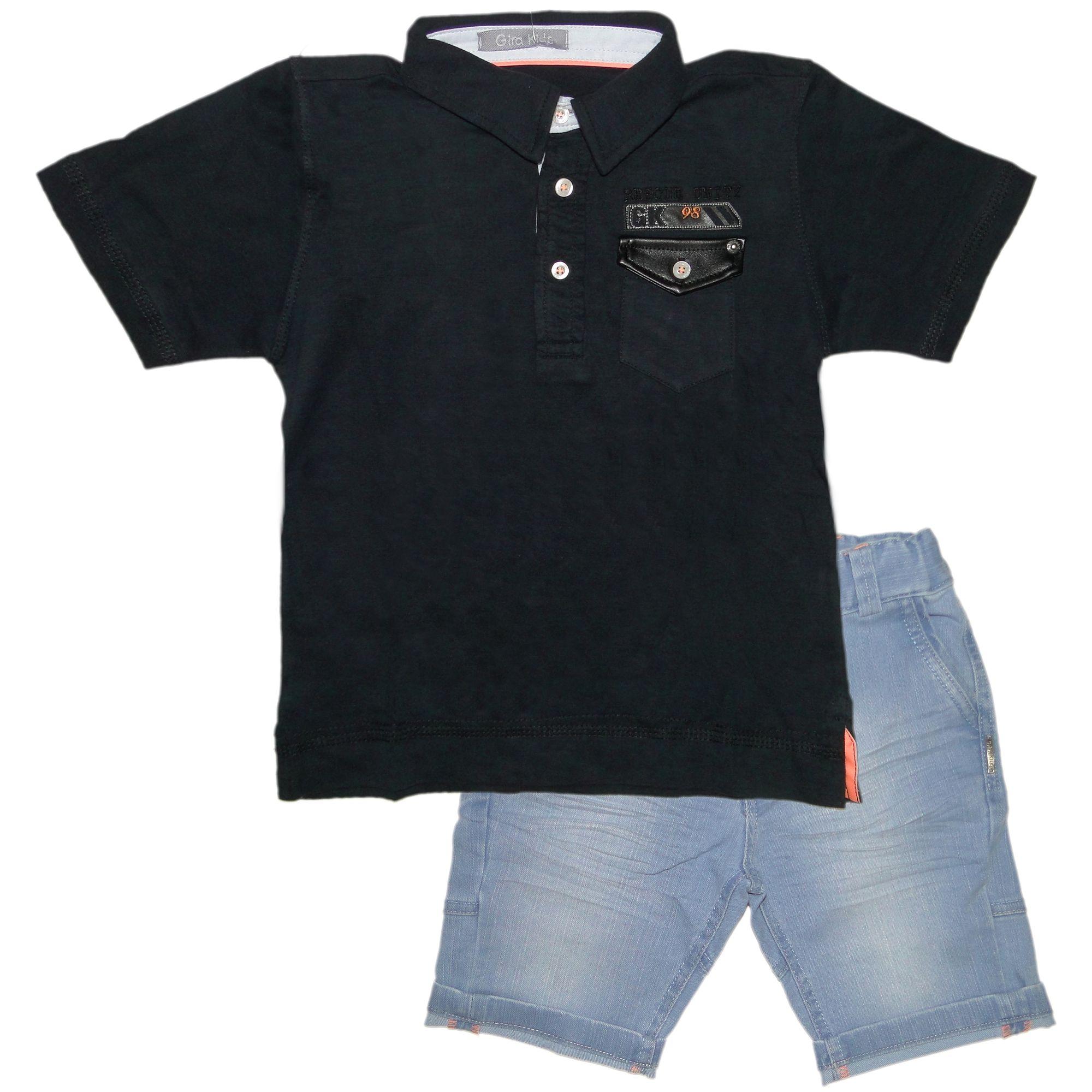 roupa-infantil-menino-polo-preta