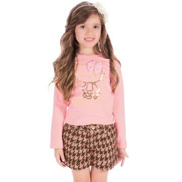 camiseta-menina-rosa-hellokitty-e-short-xadrez