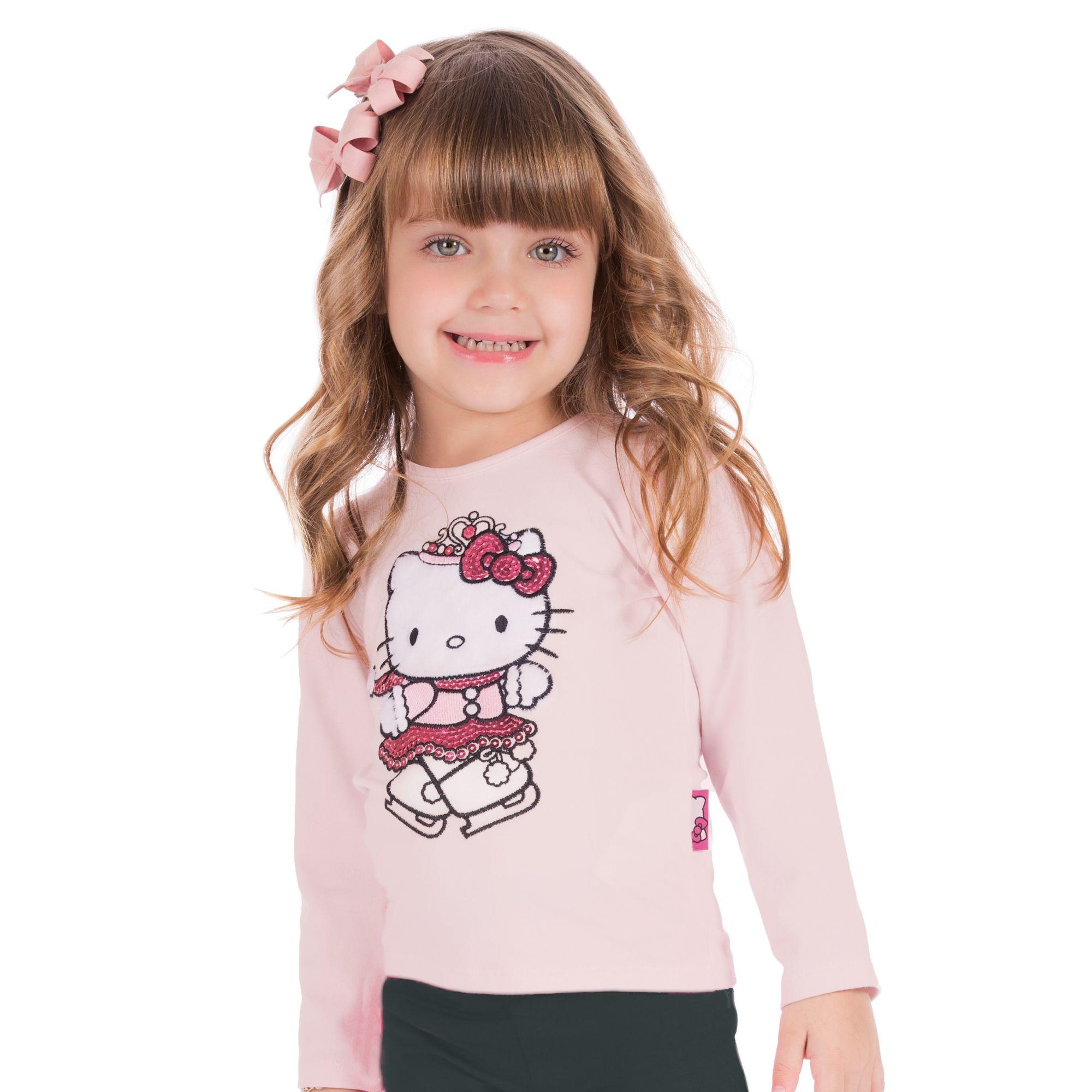 camiseta-infantil-menina-rosa-hello-kitty
