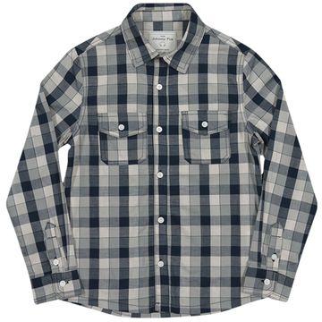 camisa-menino-xadrez-tricoline-azul-e-cinza
