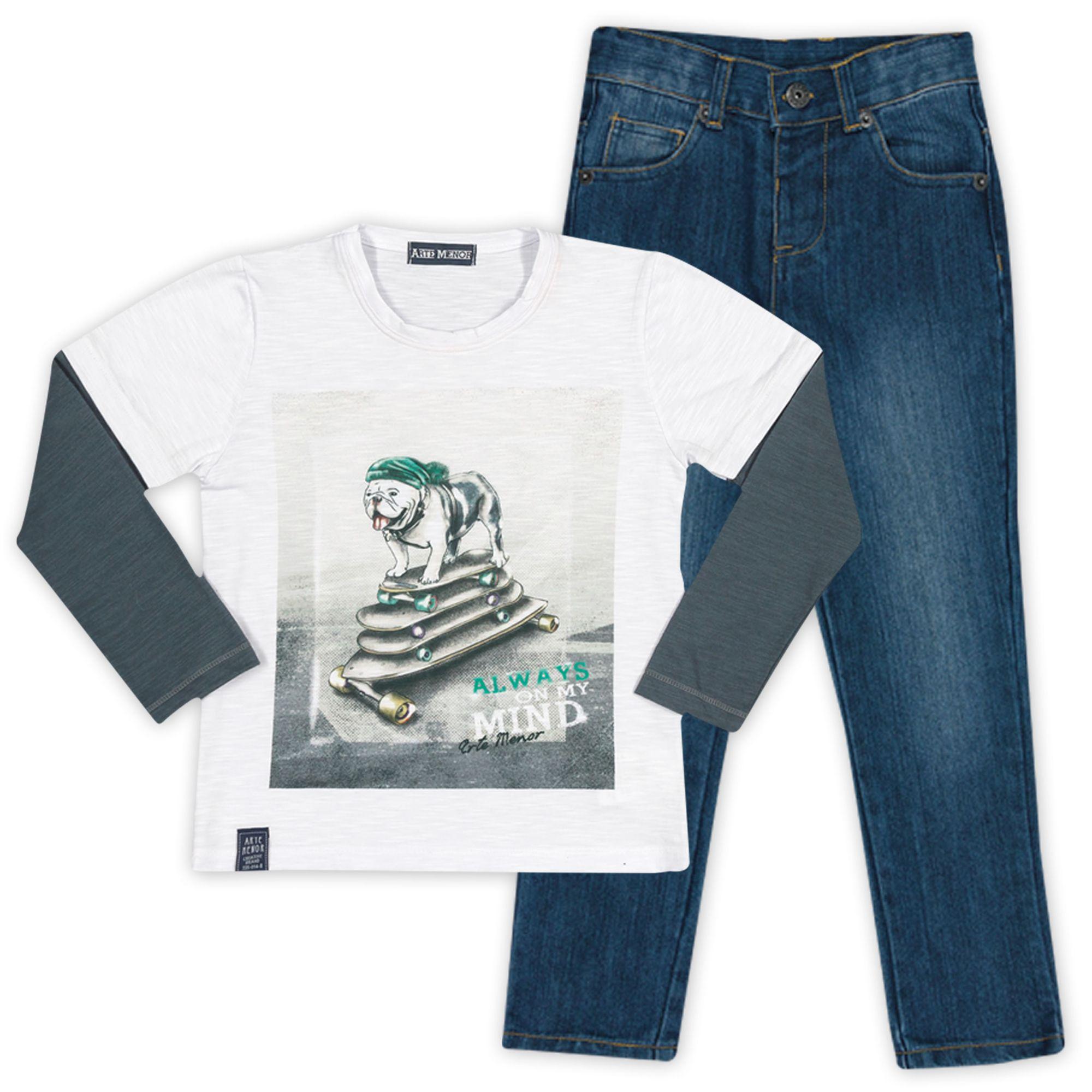 conjunto-menino-camiseta-bulldog-e--calca-jeans-infantil