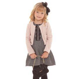 vestido-infantil-menina-tweed-com-casaco-rosa