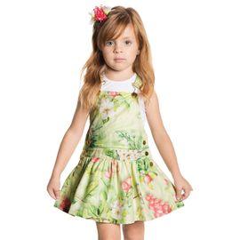 jardineira-infantil-menina-saia-rodada-tropical