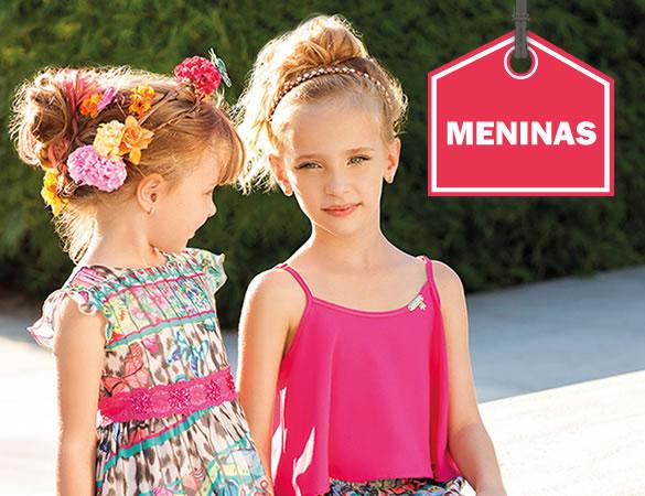 Roupa infantil para meninas na EcaMeleca