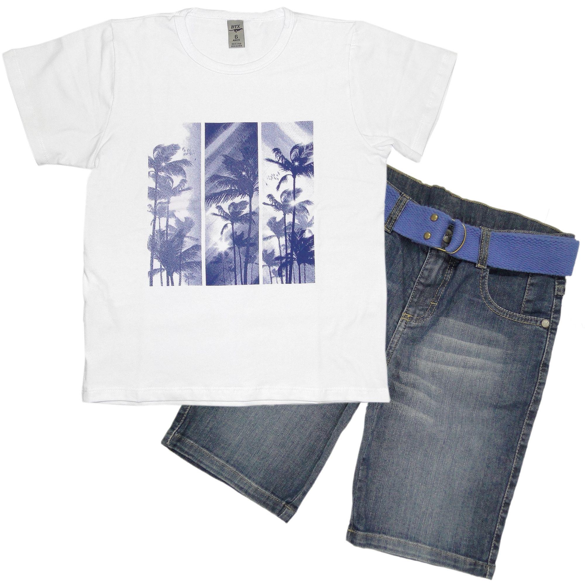 conjunto-menino-camiseta-branca-e-bermuda-jeans