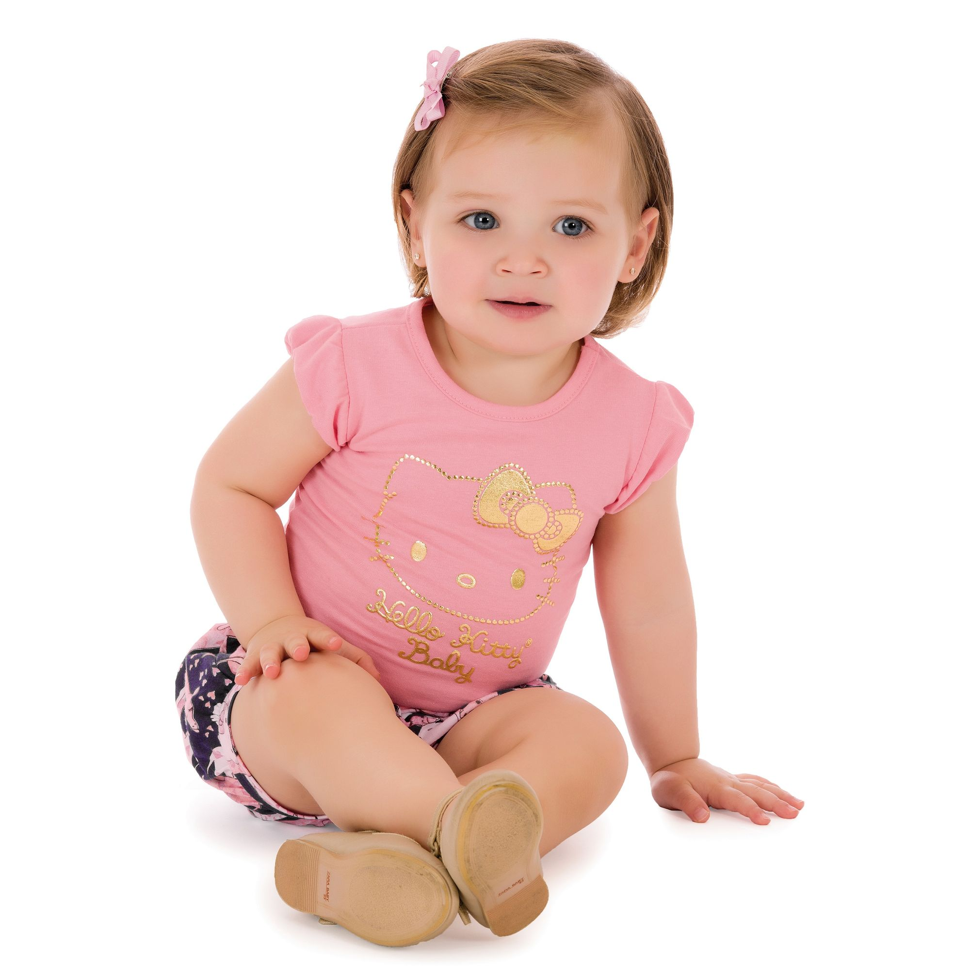 camiseta-bebe-rosa-hello-kitty-e-short-balone