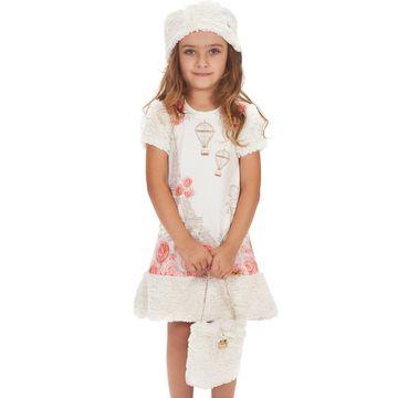 vestido-infantil-paris-branco-com-mangas-e-bolsa-de-pelo-gabriela-aquarela