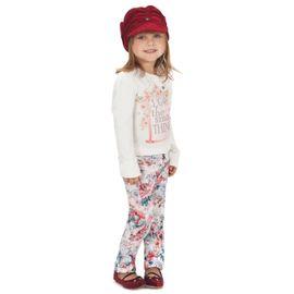 conjunto-menina-blusa-branca-flores-e-calca-skinny-estampada-gabriela-aquarela