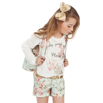 conjunto-menina-blusa-ML-com-brilho-e-short-floral-verde-gabriela-aquarela