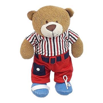 urso-pelucia-camiseta-listrada-zip-toys