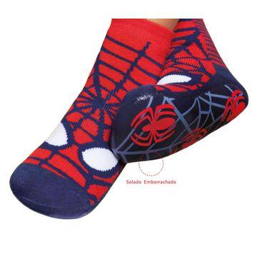 meia-infantil-soquete-pansock-spiderman-puket