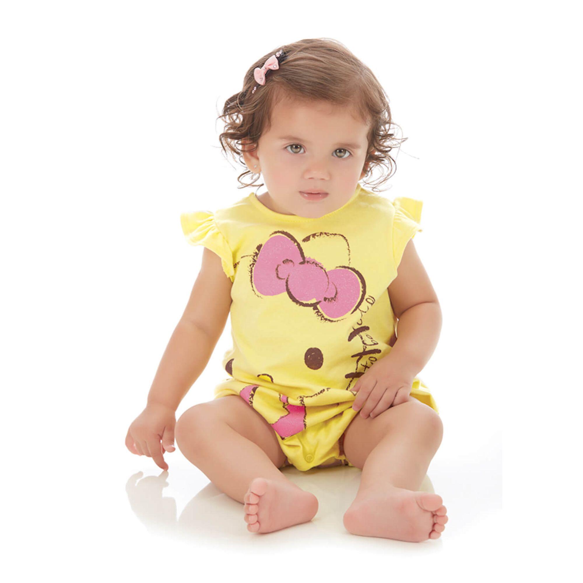 macaquinho-bebe-amarelo-hello-kitty-verao