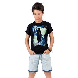 conjunto-menino-camiseta-surfista-preta-e-bermuda-jeans-claro-johnny-fox