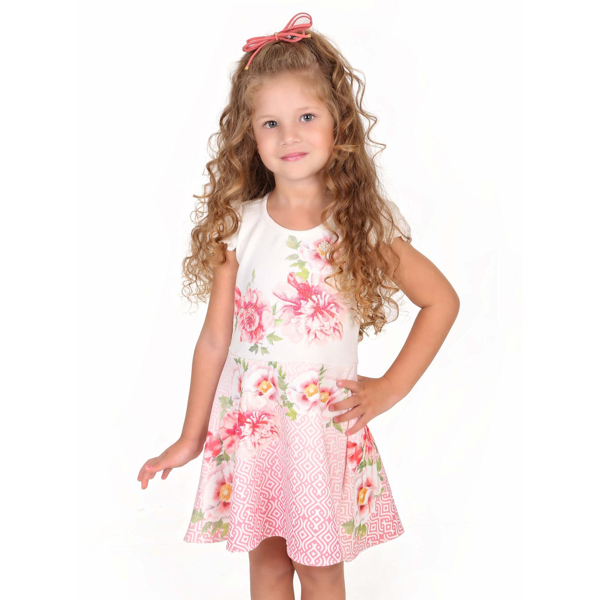 vestido-infantil-off-white-flores-e-perolas-oxford-gabriela-aquarela