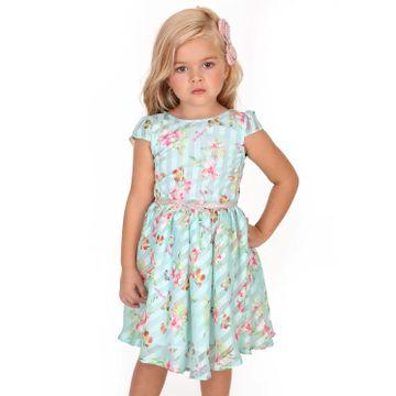 vestido-infantil-organza-verde-agua-flores-e-borboletas-gabriela-aquarela