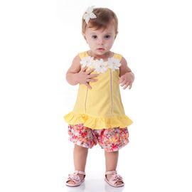 conjunto-bebe-batinha-amarela-margarida-e-short-estampado-gabriela-aquarela
