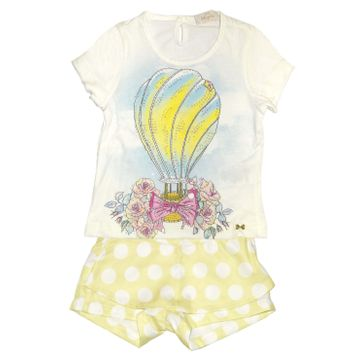 conjunto-menina-blusa-estampa-balao-e-short-saia-amarelo-poas-luluzinha