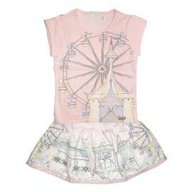 conjunto-menina-blusa-rosa-roda-gigante-e-saia-rodada-carrossel-luluzinha