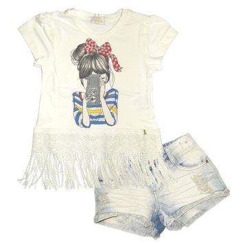 conjunto-infantil-blusa-menina-camera-com-franjas-e-short-jeans-luluzinha