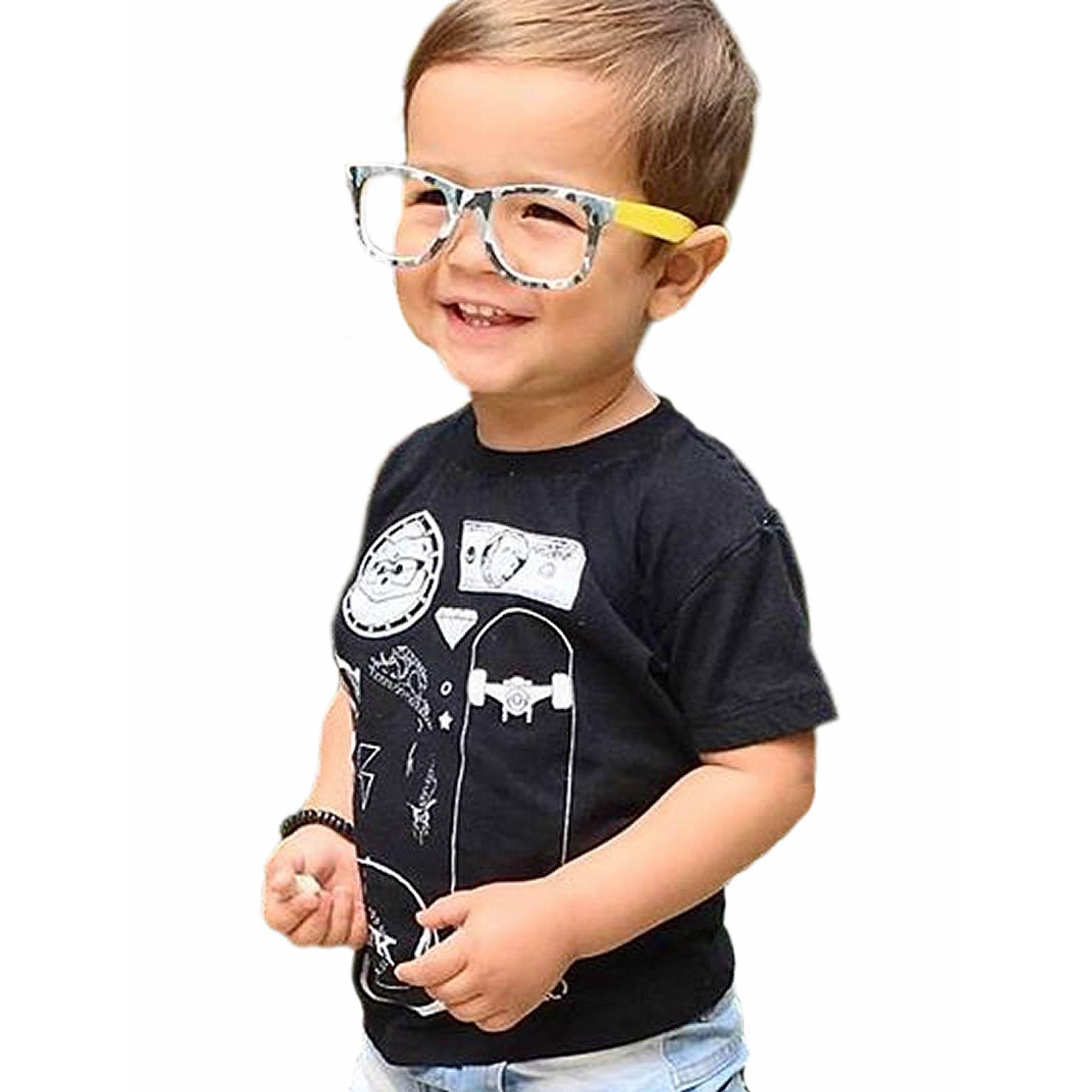camiseta-infantil-menino-preta-elements-sfk