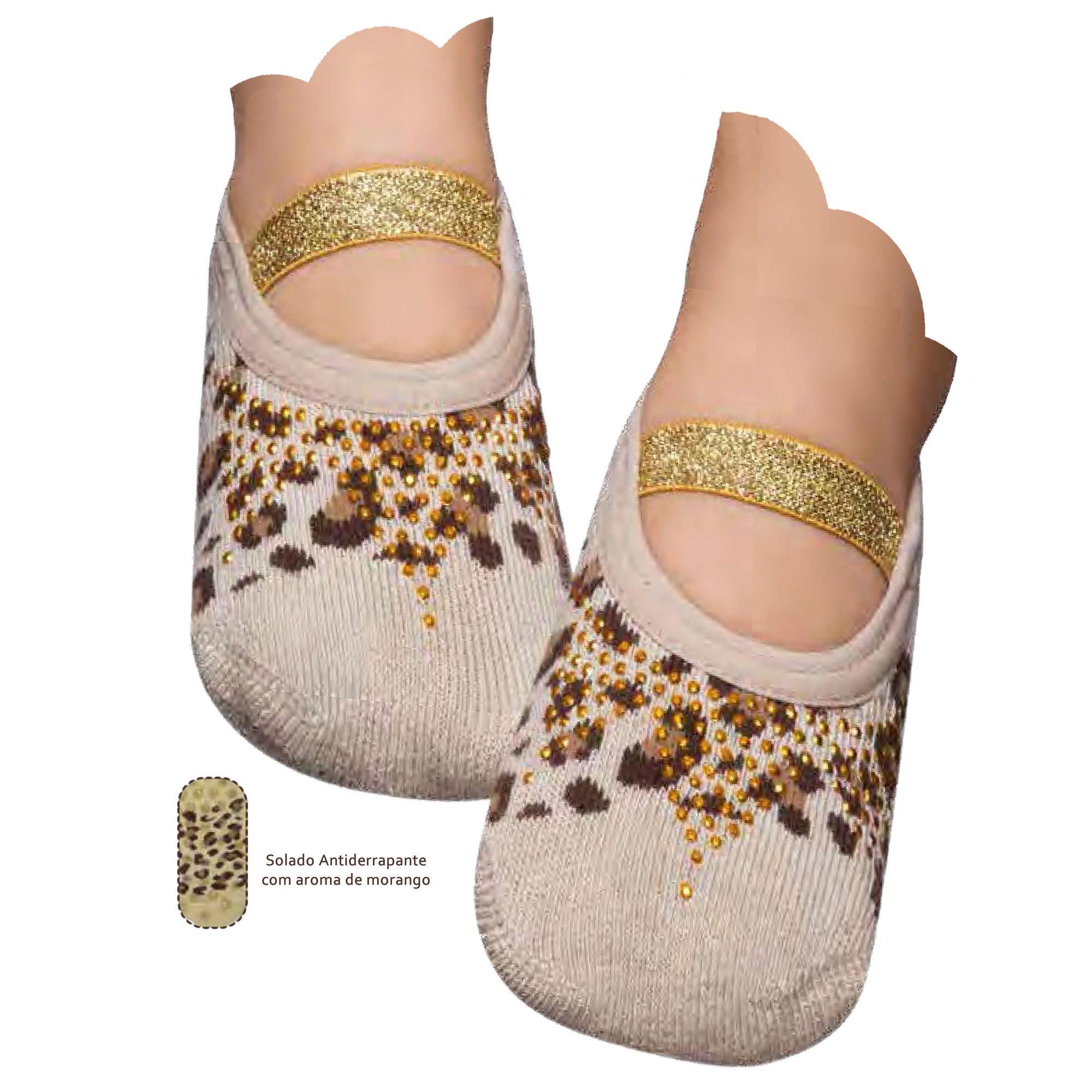 meia-sapatilha-boneca-kids-princesa-estampa-oncinha-com-dourado-puket