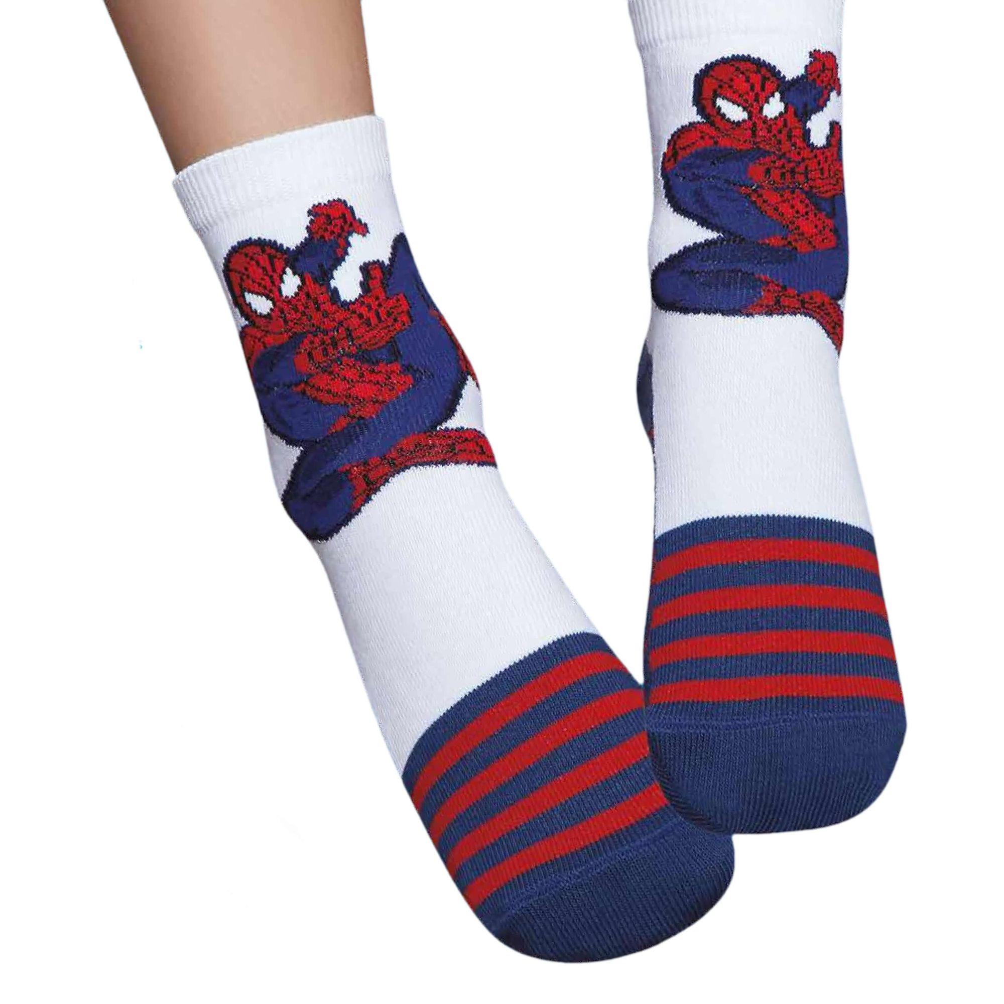 meia-infantil-soquete-homem-aranha-spiderman-puket