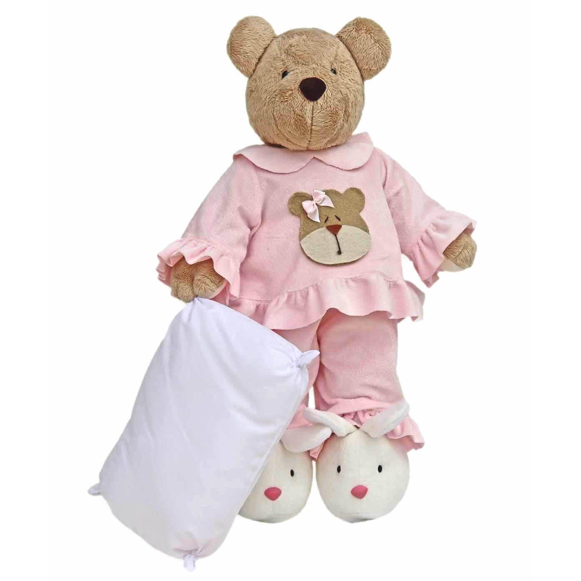 ursa-pelucia-com-pijama-rosa-silvia-polito