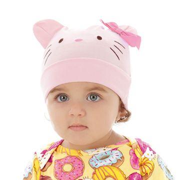 touca-bebe-hello-kitty-suedine-rosa