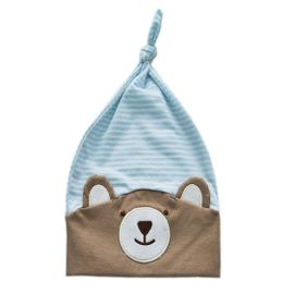 gorro-bebe-urso-nino-listrado-azul-ziptoys