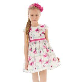 vestido-festa-infantil-tafeta-flores-pink-hello-kitty