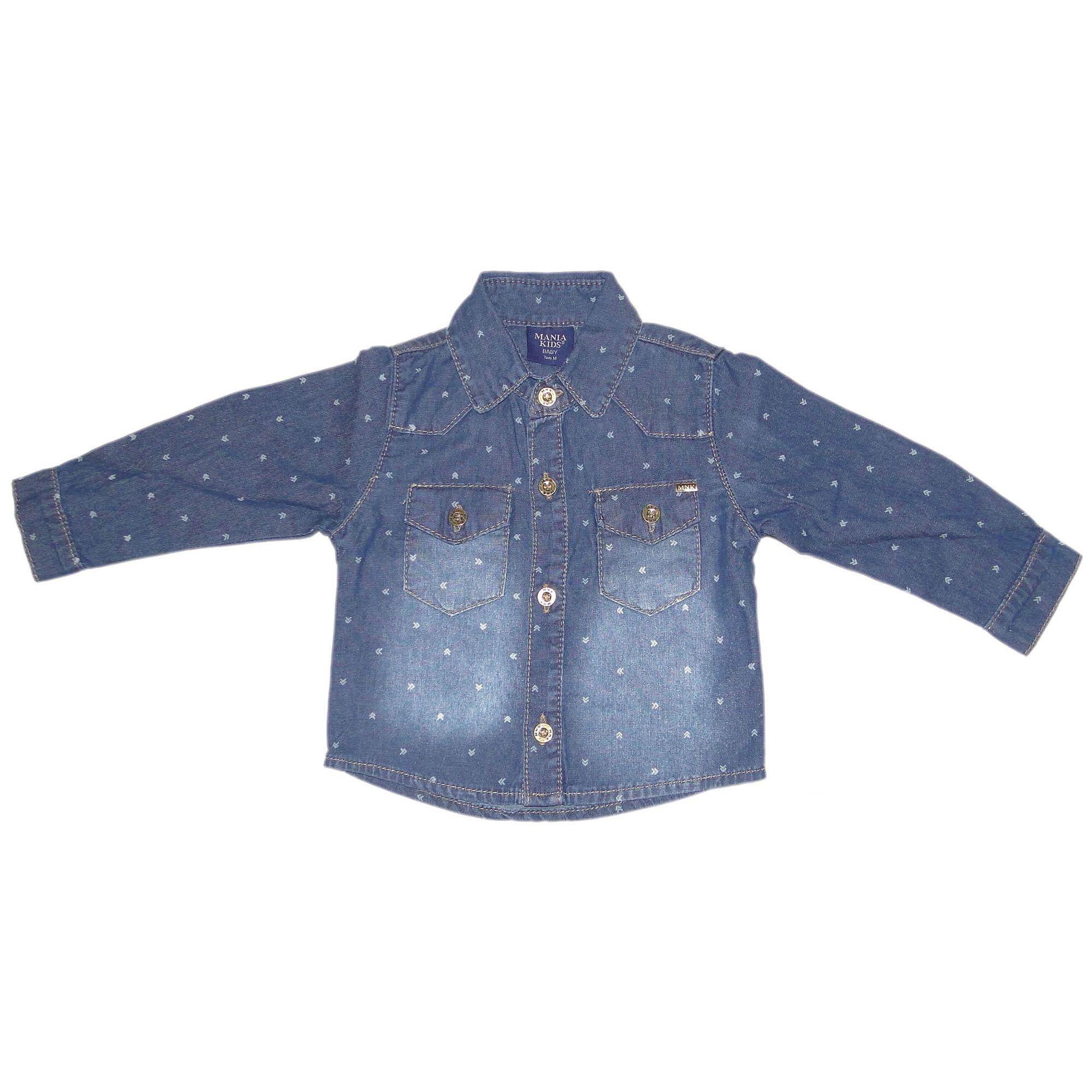 camisa-jeans-bebe-menino-manga-longa-mania-kids