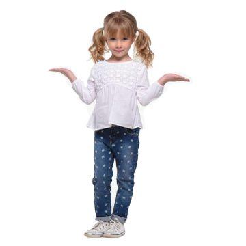 conjunto-menina-bata-branca-e-calca-jeans-gatinhos-mania-kids