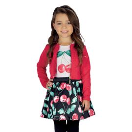 conjunto-menina-jaqueta-pink-camiseta-e-saia-cerejas-infanti