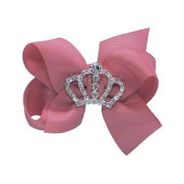 laco-cabelo-princesa-coroa-rosa-antigo-menina