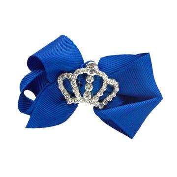 laco-cabelo-princesa-coroa-azul-royal