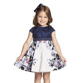 vestido-festa-infantil-renda-azul-marinho-perolas-e-flores