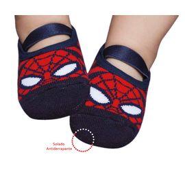 meia-infantil-sapatilha-homem-aranha-puket