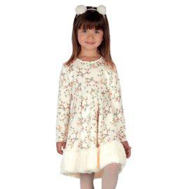 vestido-menina-barra-pelo-florzinhas-e-tiara-pompom