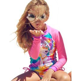 camiseta-protecao-solar-unicornio-com-brilho-rosa