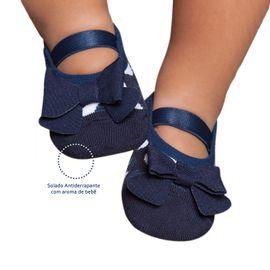 meia-sapatilha-kids-azul-marinho-com-laco-puket