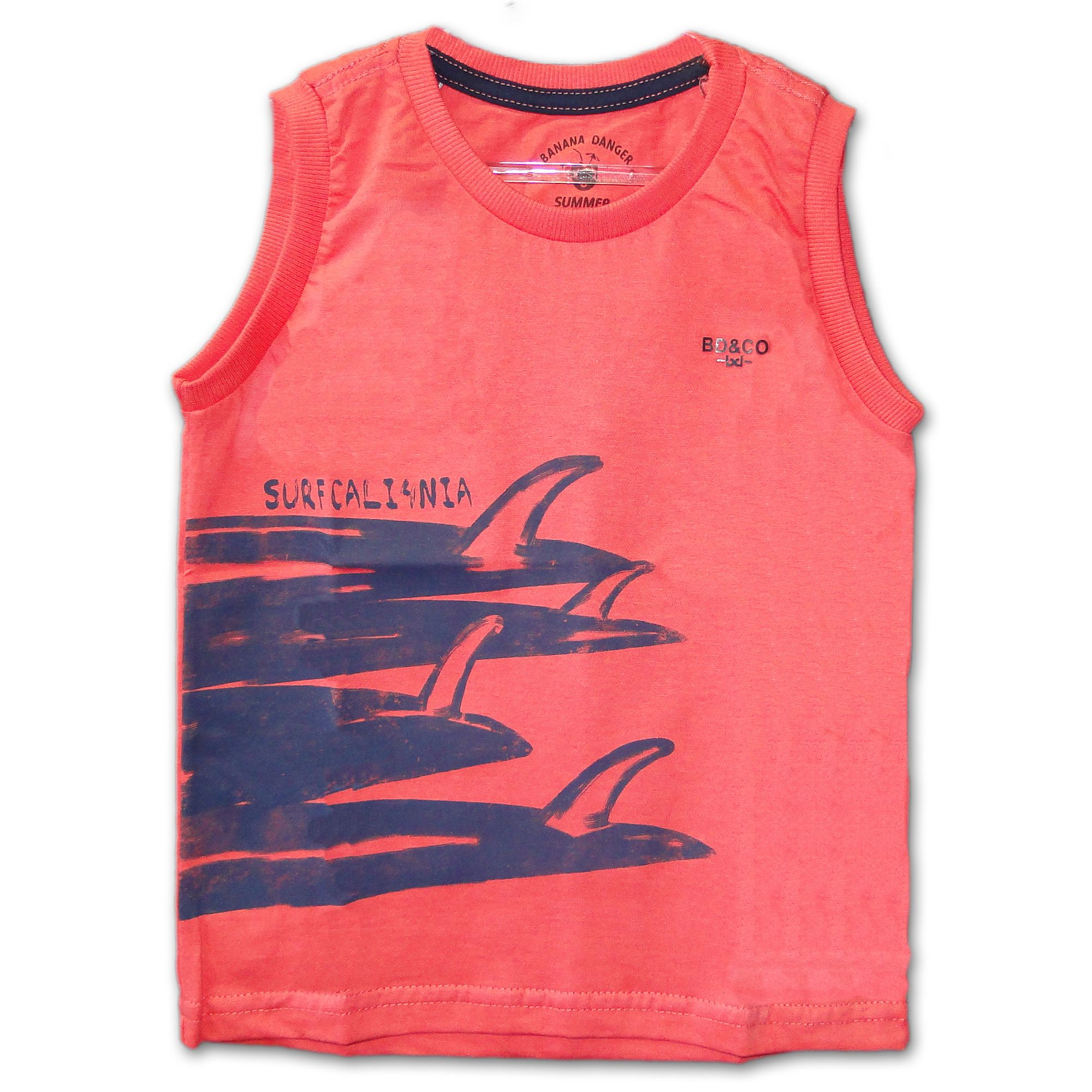 35c4b899e16470 Camiseta Regata Machão Califórnia Rosa - EcaMeleca