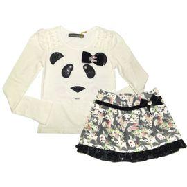conjunto-ursinho-panda-menina-com-saia-veludo-estampado