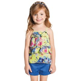 conjunto-infantil-bata-flores-amarela-e-short-azul-ninali