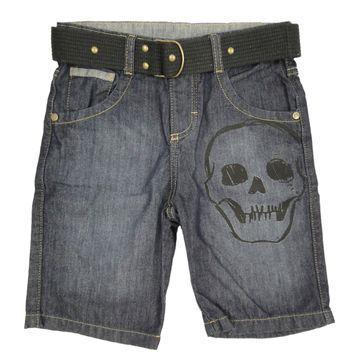 bermuda-infantil-jeans-caveira-preta