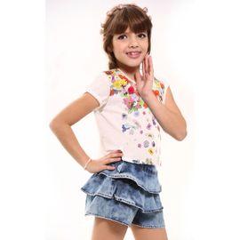 conjunto-menina-blusa-flores-e-short-saia-jeans-babados