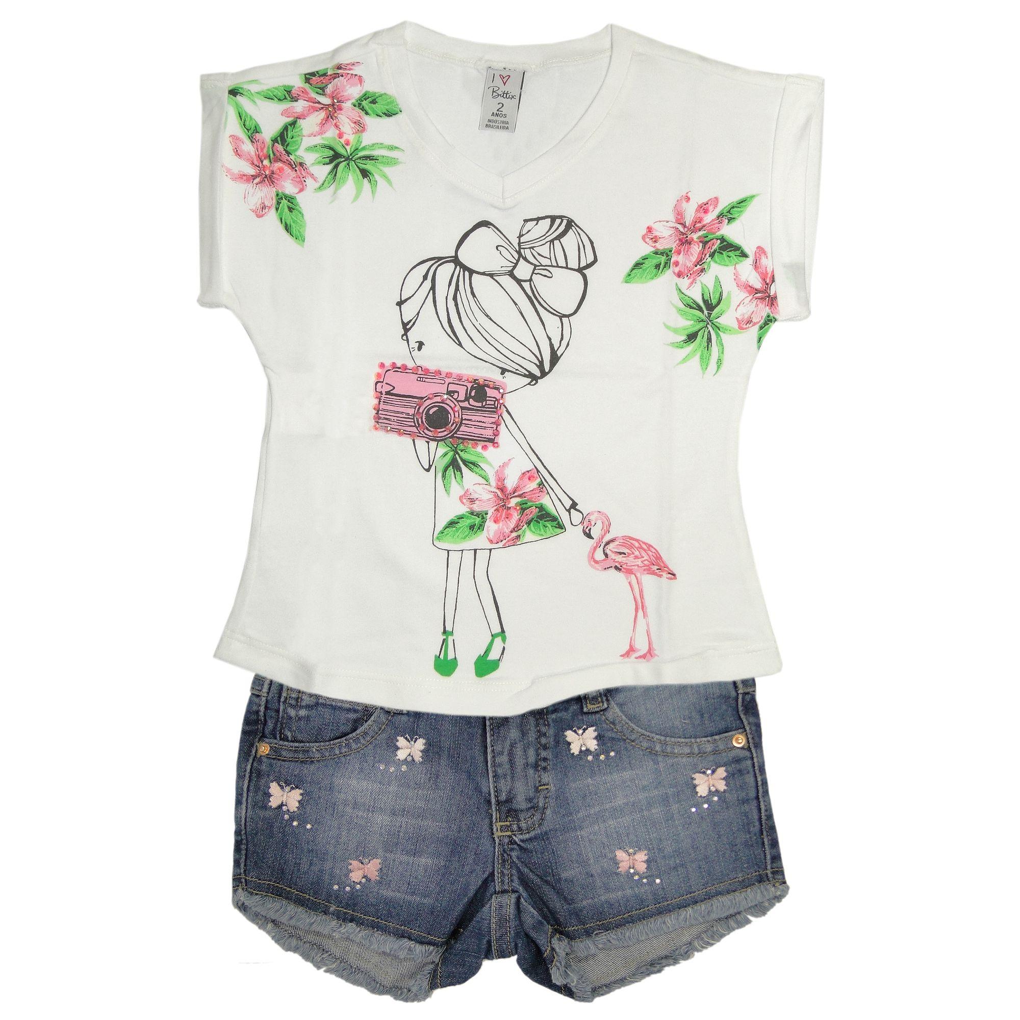 camiseta-menina-fotografa-e-short-infantil-jeans-borboletas