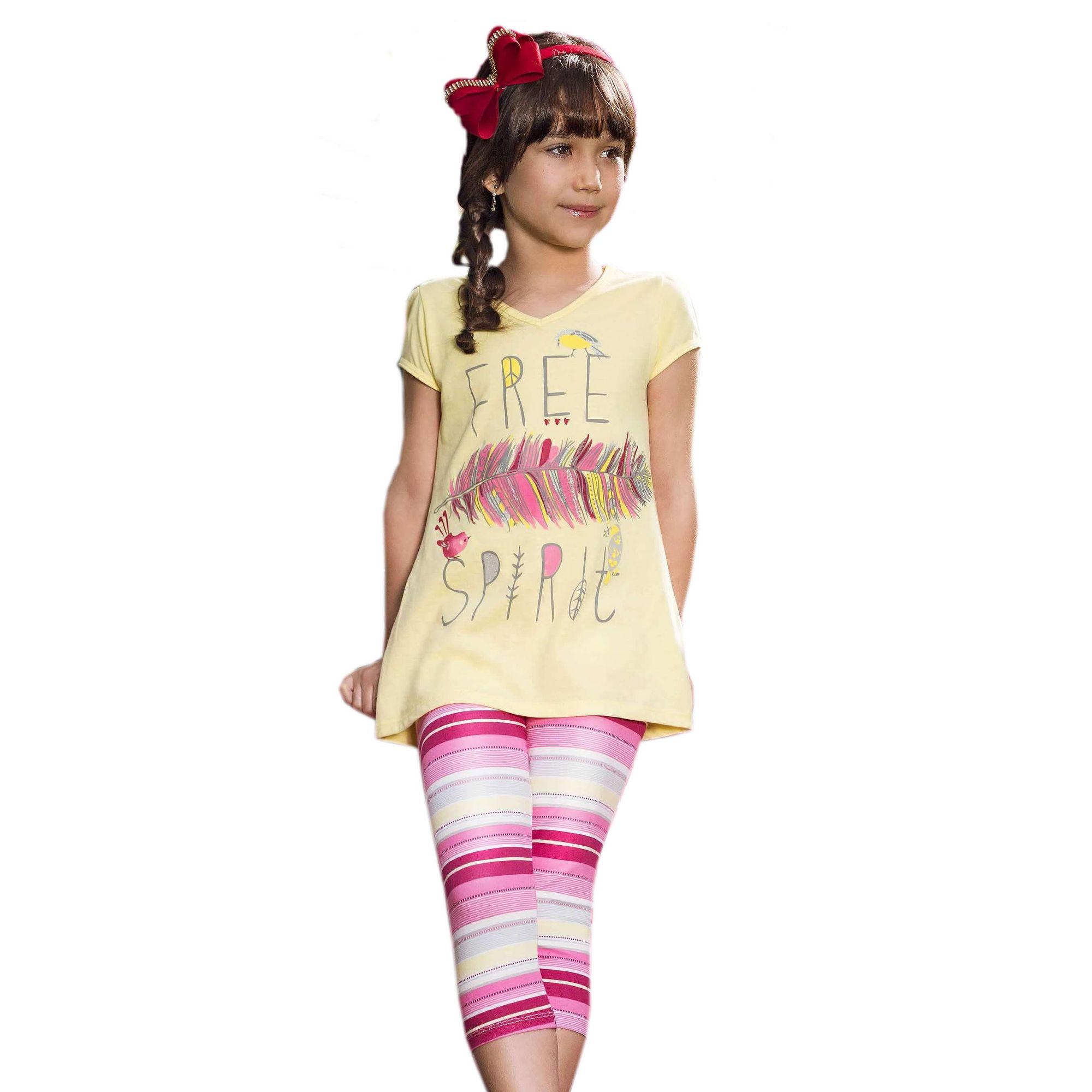 conjunto-menina-camiseta-free-spirit-e-legging-listrada-loopy-de-loop